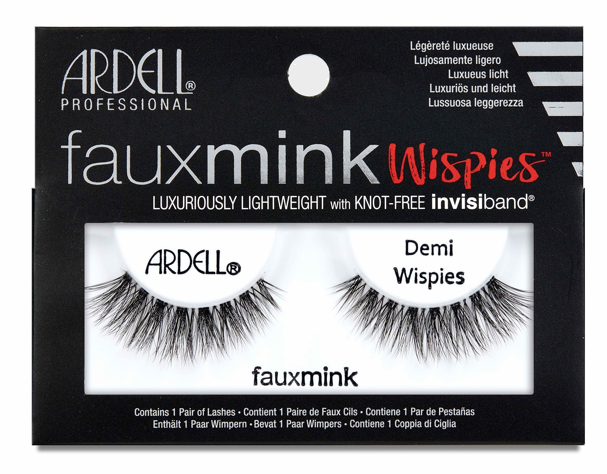 Faux Mink Demi Wispies False Lashes Black