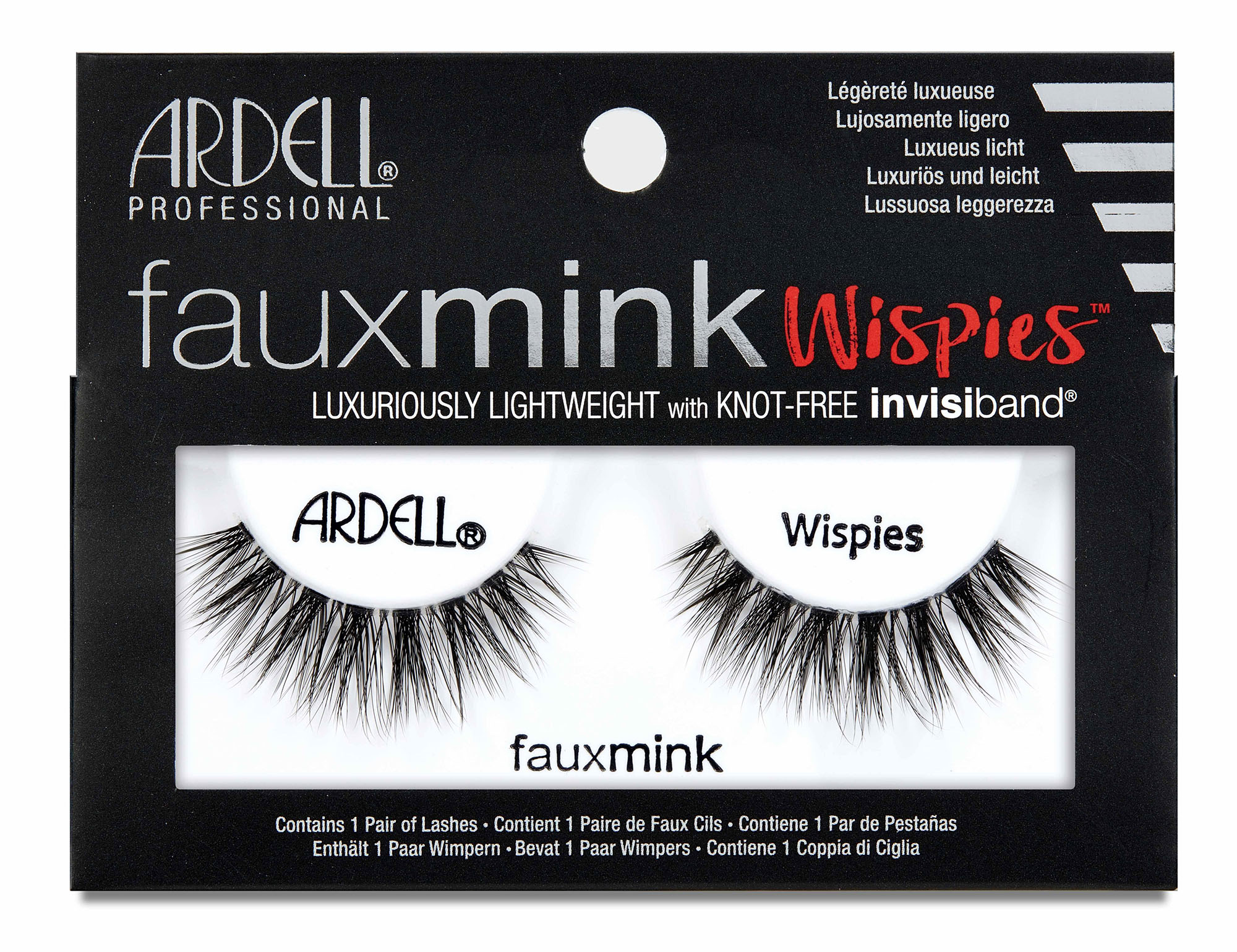 Faux Mink Wispies False Lashes