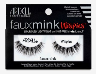 Faux Mink Wispies False Lashes Black