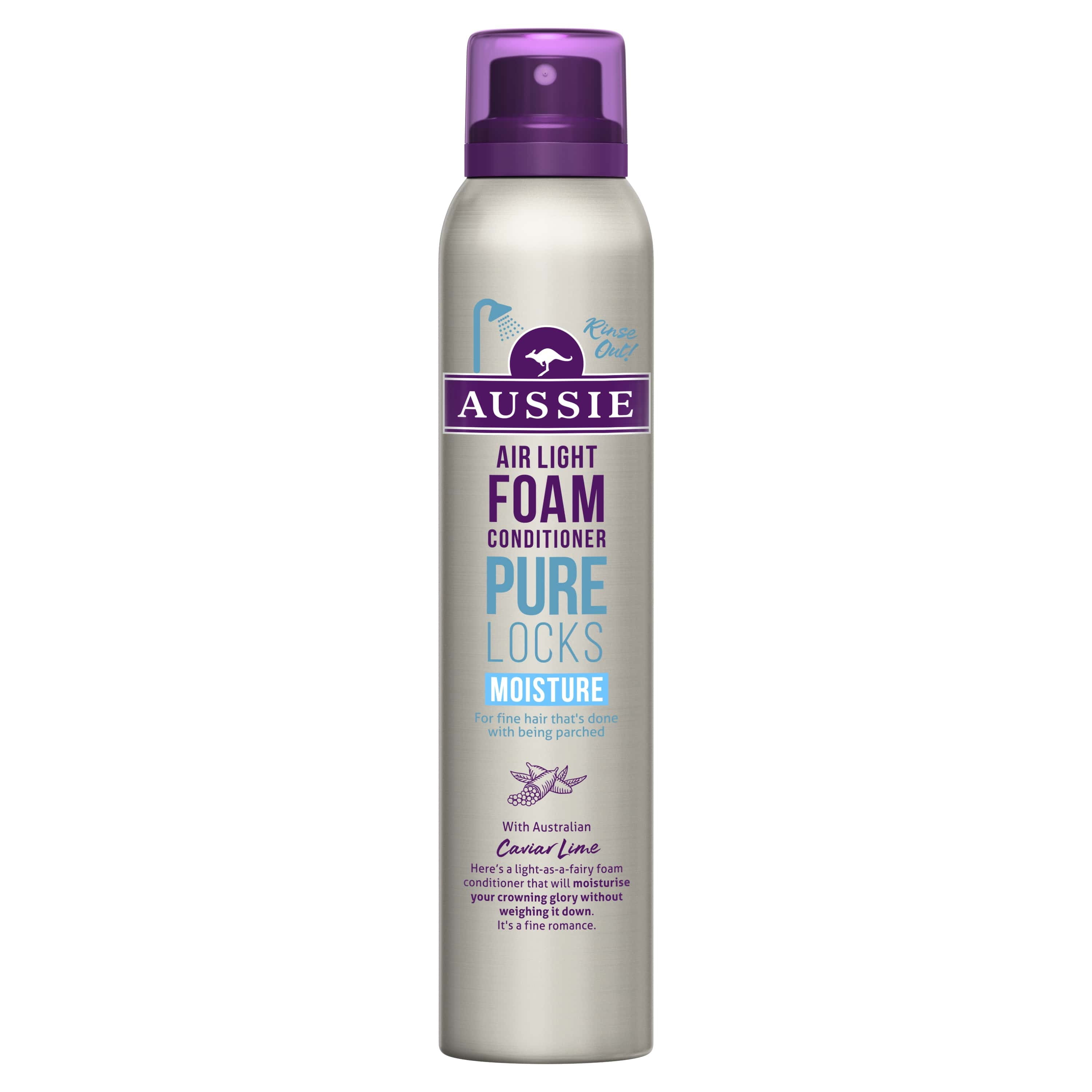 Locks Moisture Foam Conditioner, Platt Hår, Vik Hädan 180 ml