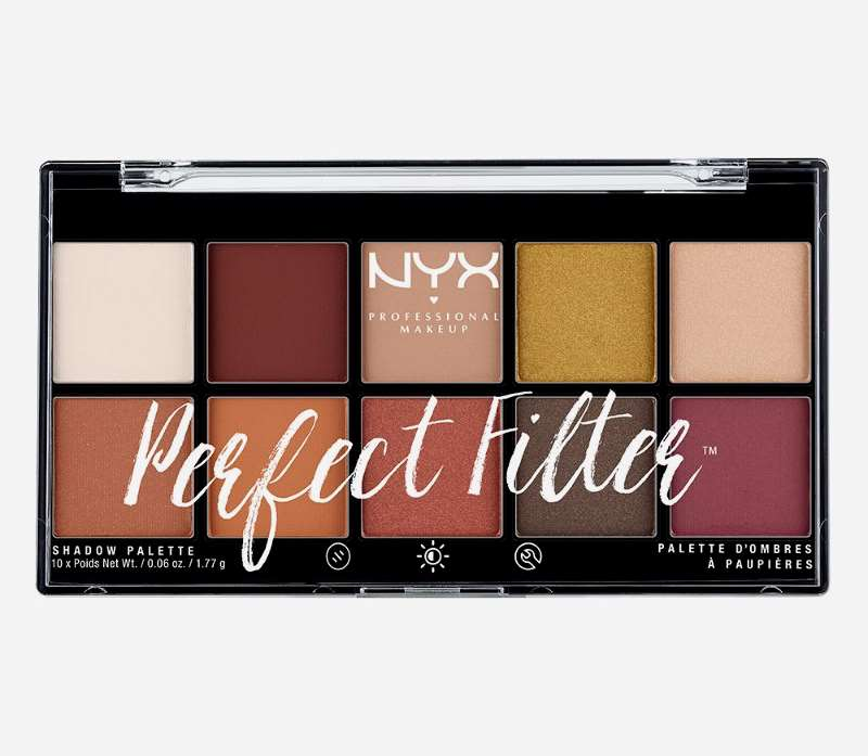 NYX Cosmetics Perfect Filter Shadow Palette Rustic Antique