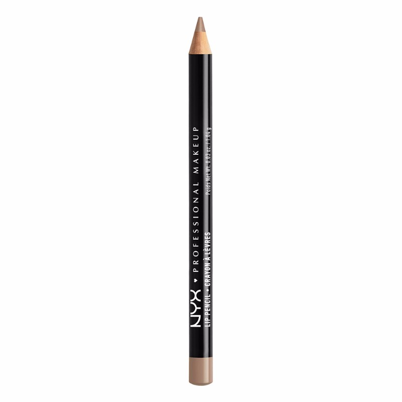 NYX Professional Makeup Slim Lip Liner Pencil, Color Beige