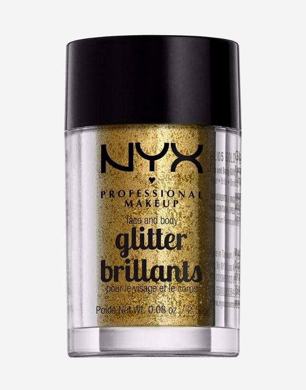Face & Body Glitter Gold