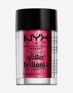Face & Body Glitter Red