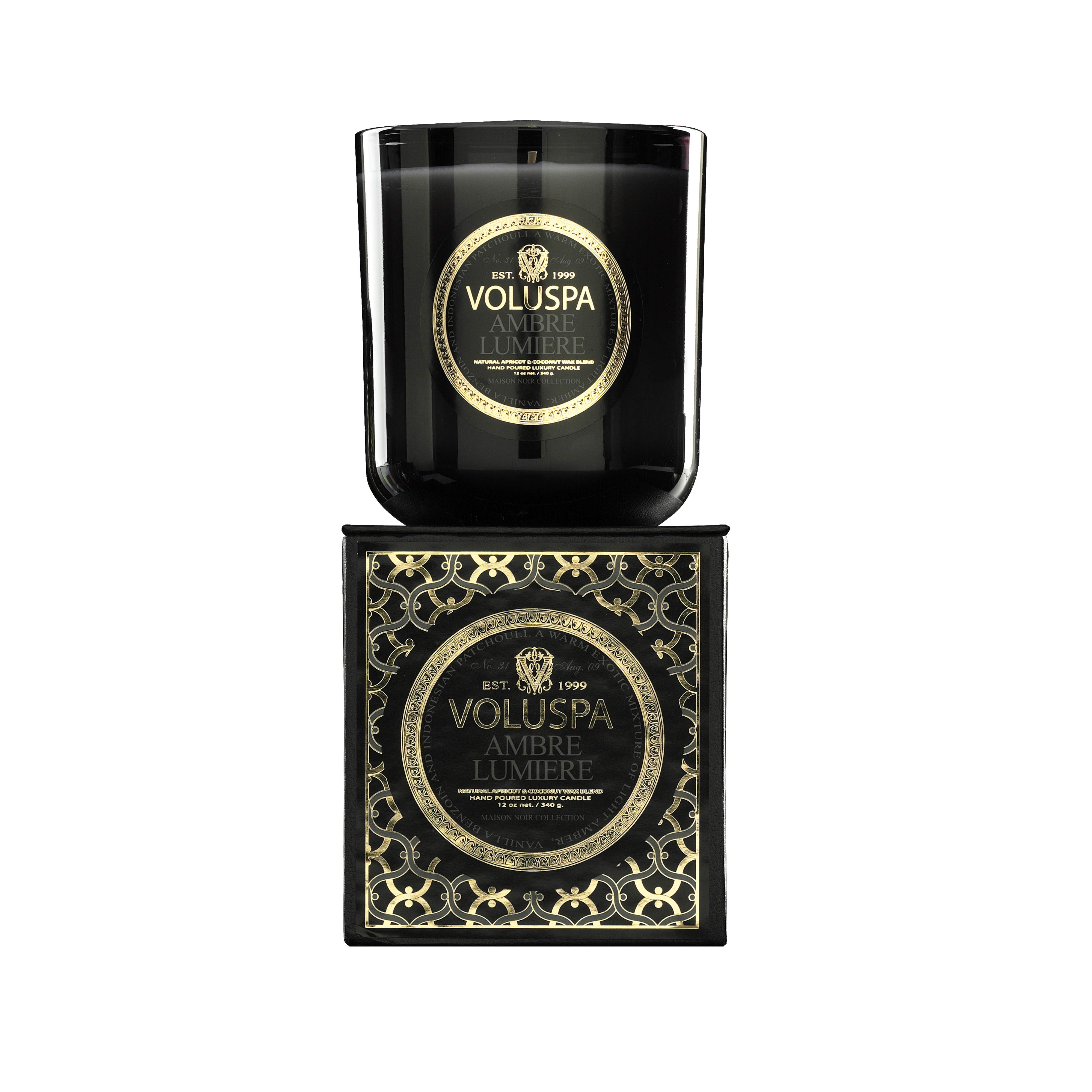 Ambre Lumiere Classic Maison Scented Candle