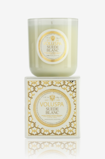 Suede Blanc Classic Maison Scented Candle