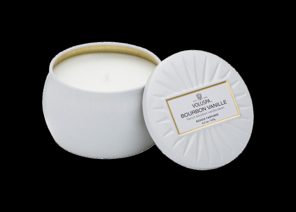 Bourbon Vanille Decorative Candle Bourbon Vanille minitin Candle