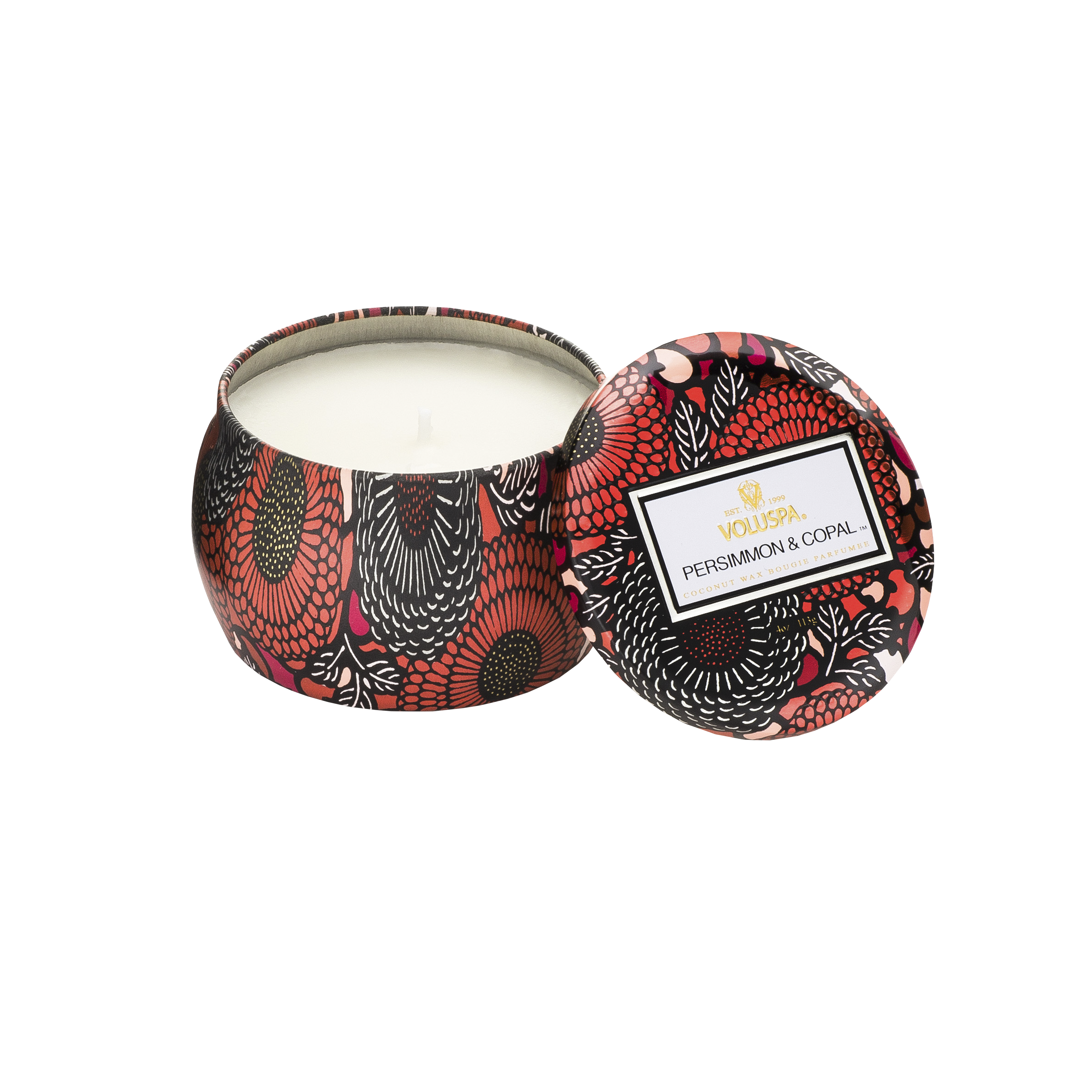 Persimmon & Copal Tin Scented Candle