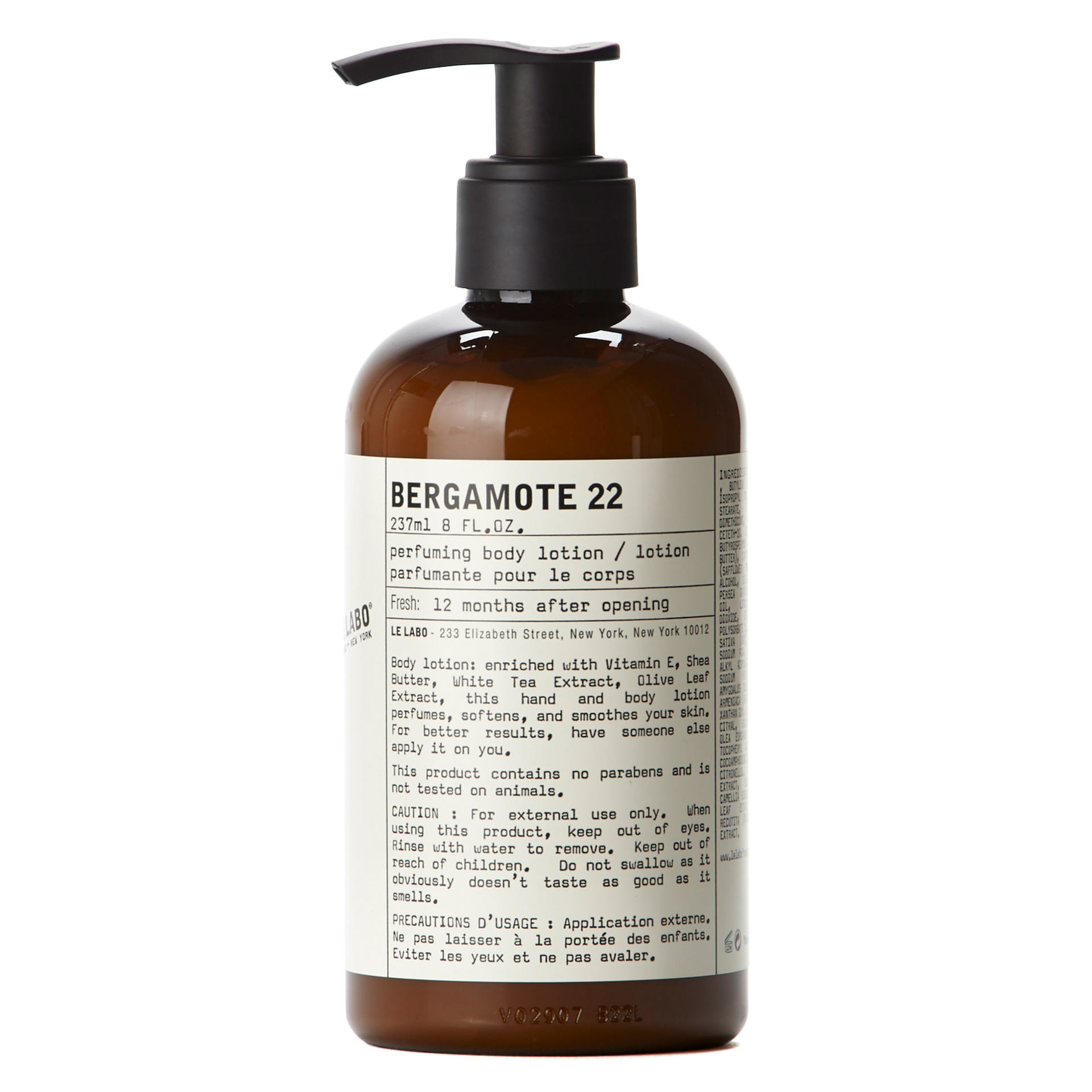 Bergamote 22 Body Lotion 237 ml