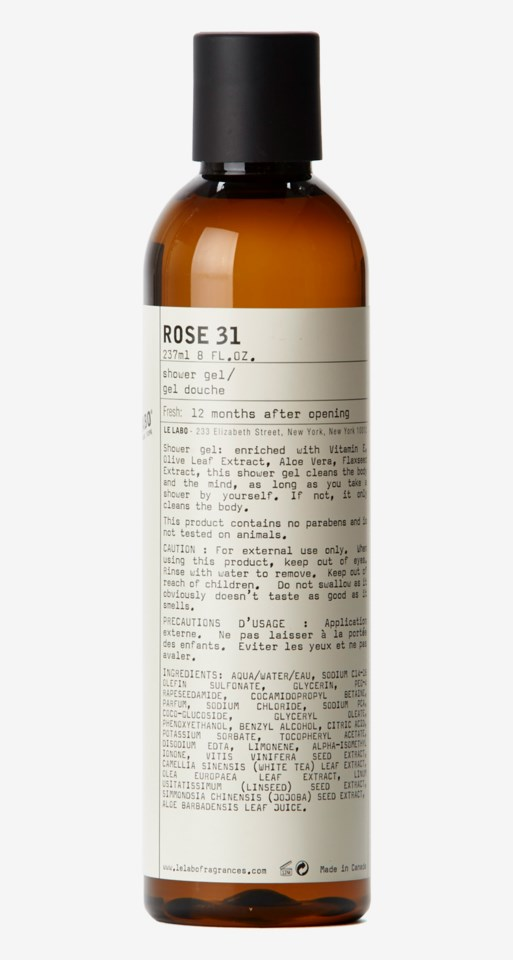 Rose 31 Shower Gel 237 ml