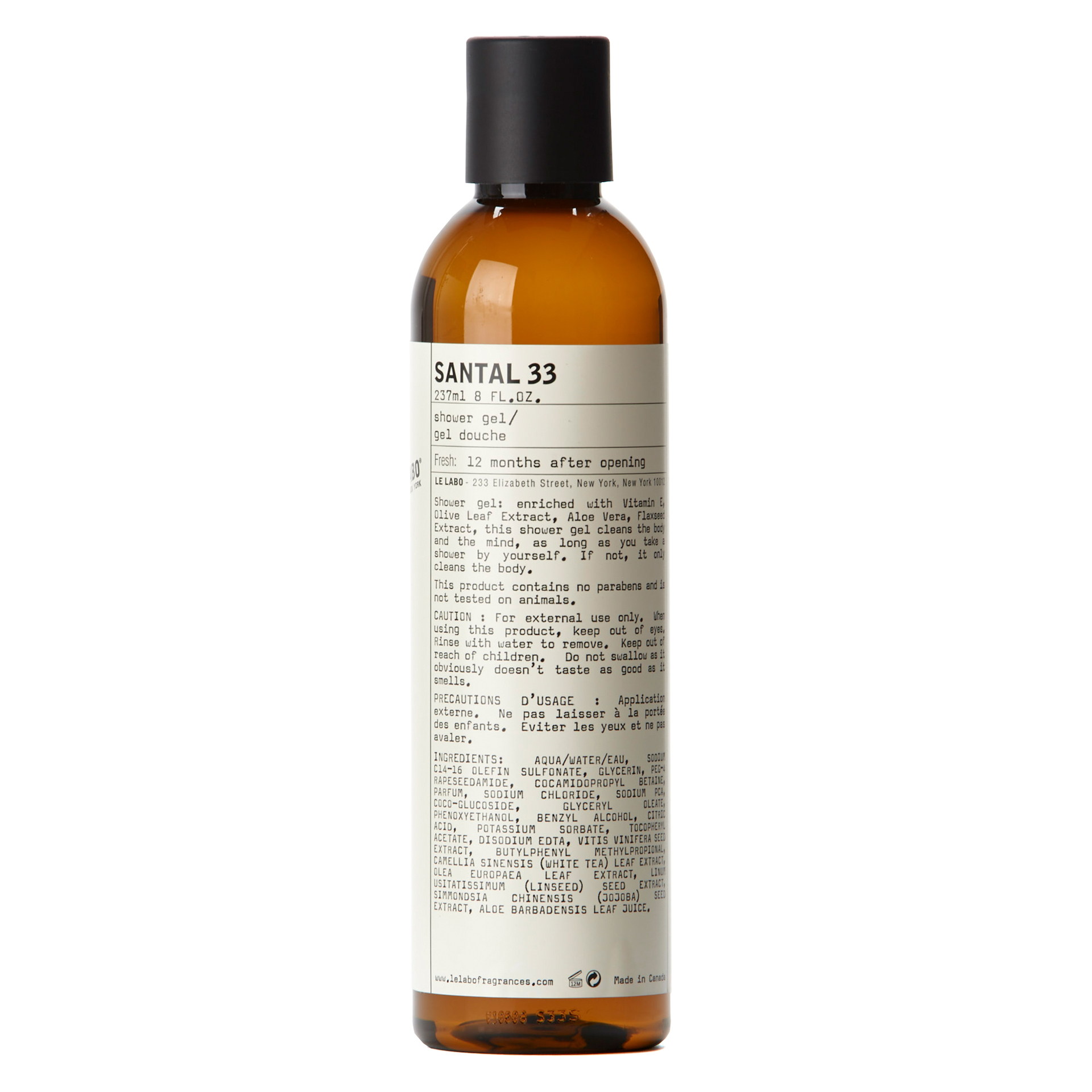Santal 33 Shower Gel 237 ml