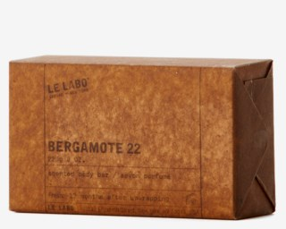Bergamote 22 Scented Body Bar