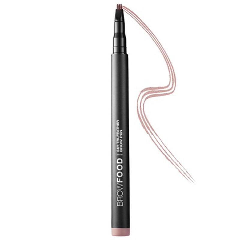BrowFood 24H Tri-Feather Brow Pen Dark Brunette