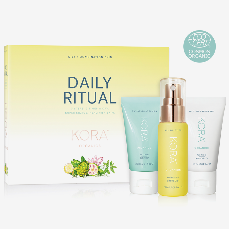 Daily Ritual Oily/Combination Skin Kit