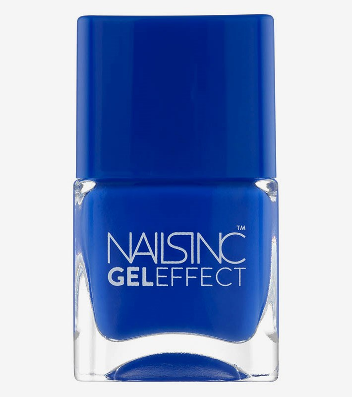 Gel Effect Nailpolish Blue Baker Street