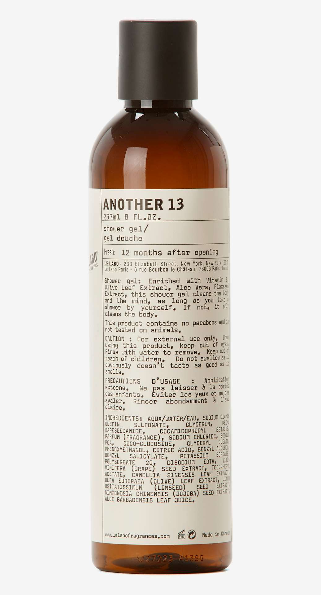 f3b3cb40f522 Another 13 Shower Gel - Le Labo - KICKS