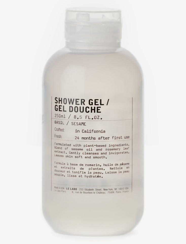 Basil Shower Gel 250 ml