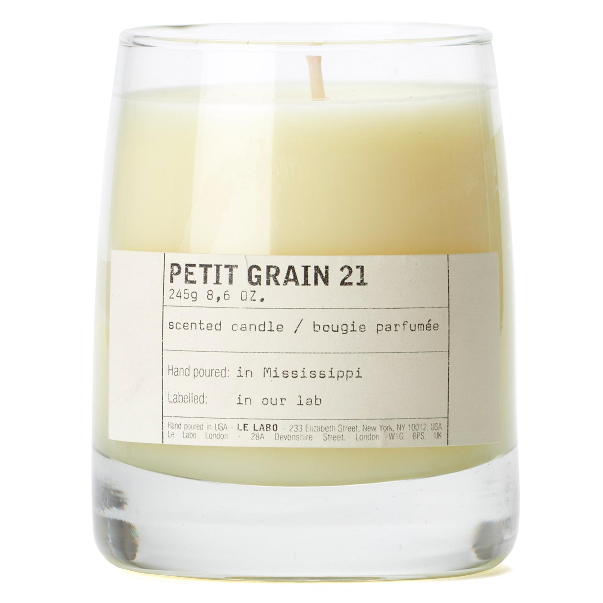 Petit Grain 21 - Classic Candle