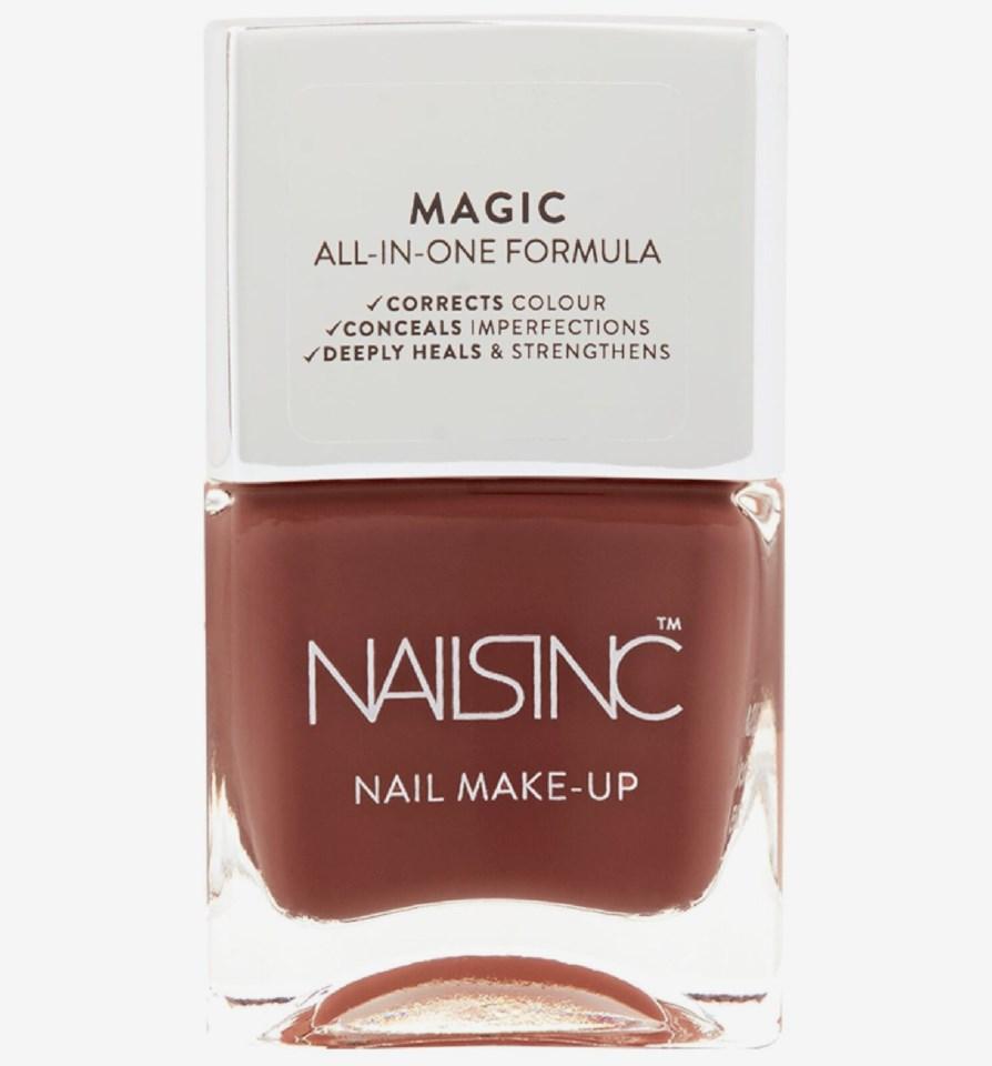 Nail Make-Up Nail Polish Light Brown Chalcot Square