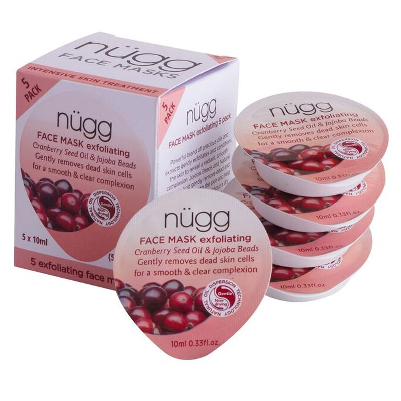 Exfoliating Face Mask 5-pack 50 ml