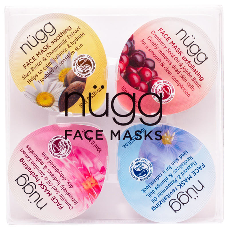 Face Mask 4-Pack 40ml