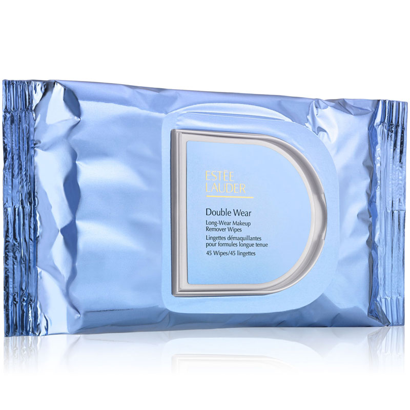 Double Wear Long-Wear Make up Remover Wipes