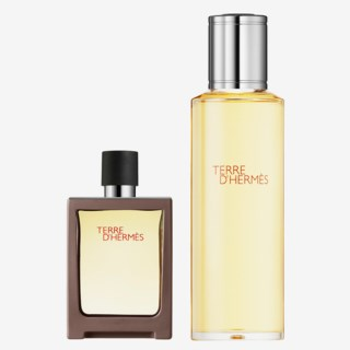 Terre d'Hermès Travel Spray + Refill Eau de toilette 155 ml