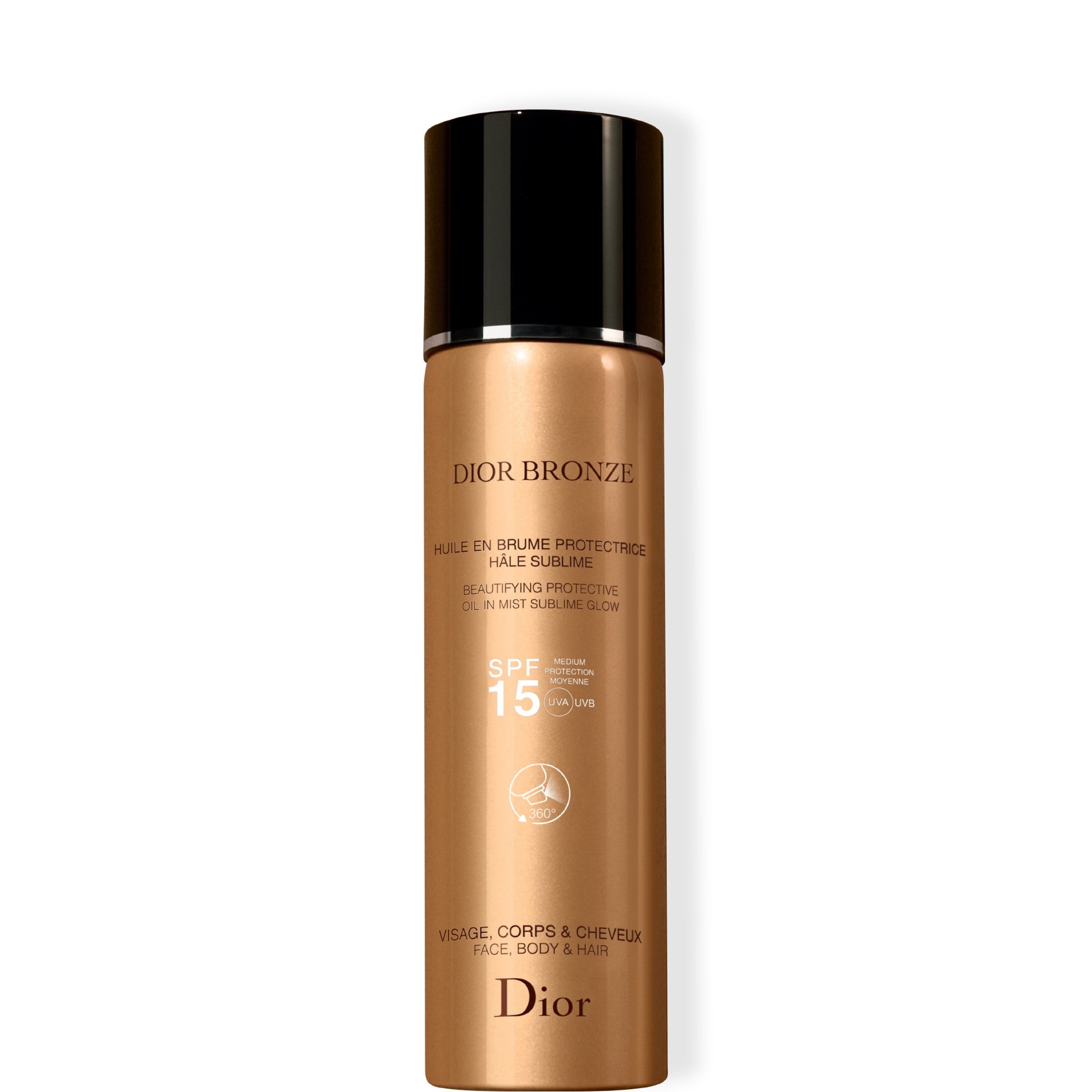Bronze Beautifying Protective Oil-in-Mist SPF 15 125ml