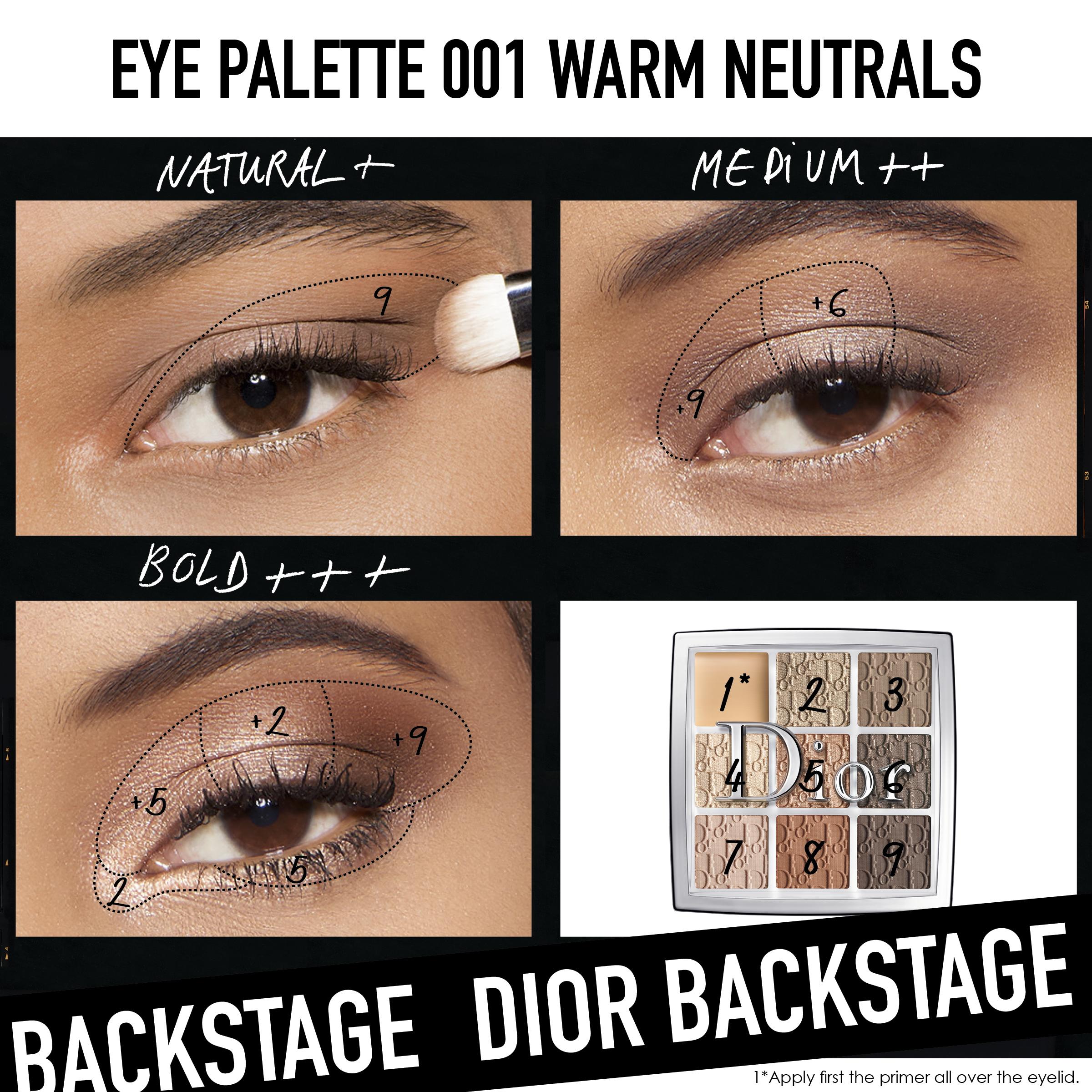 Backstage Eye Palette 001Warm