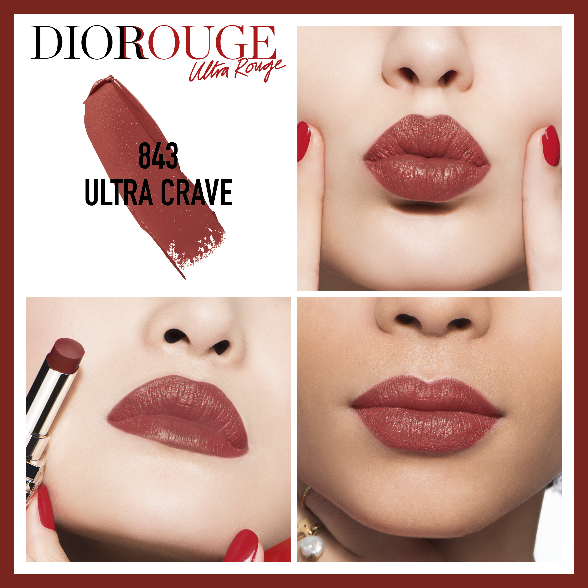 Rouge Dior Ultra Rouge 843 Ultra Crave