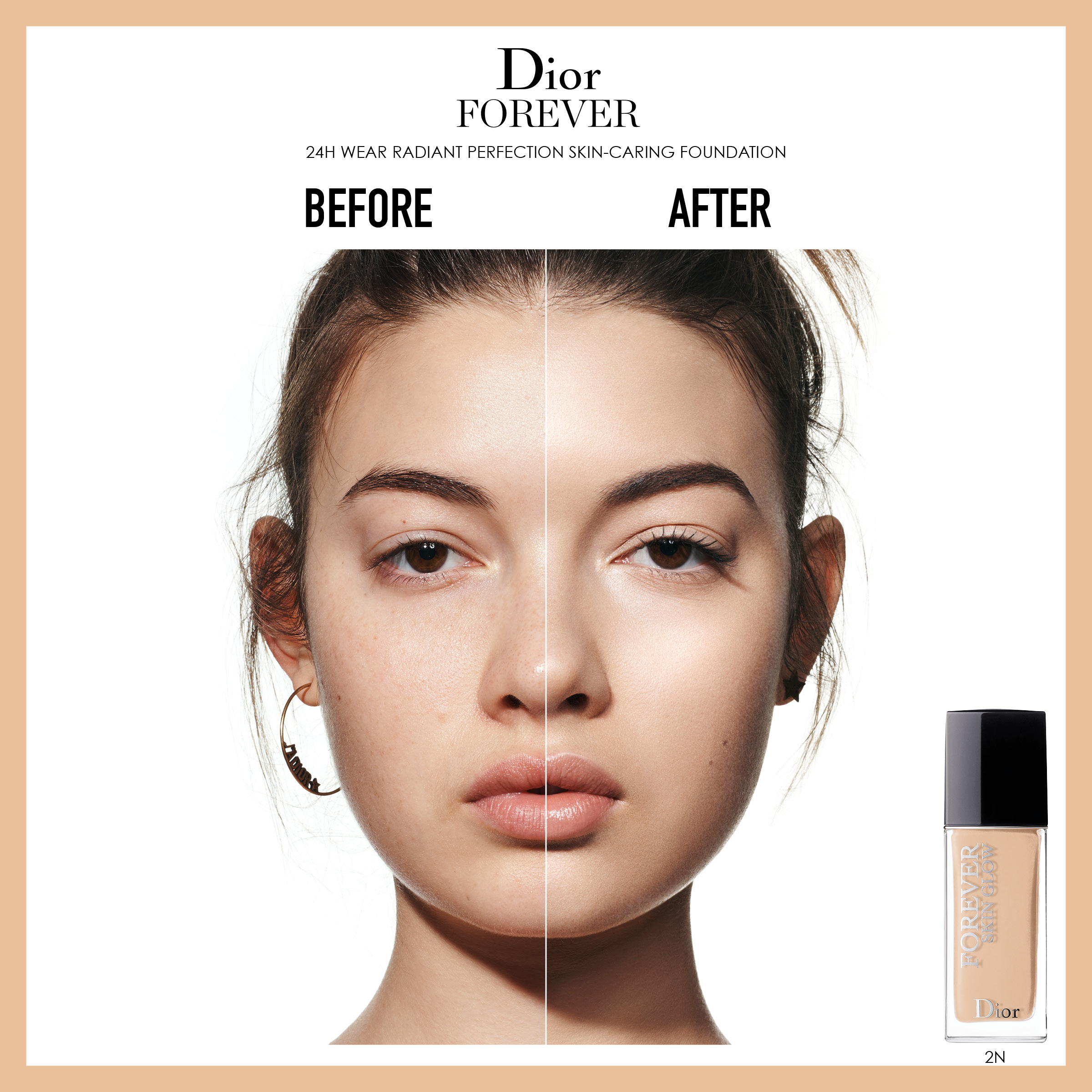 Forever Fluid Skin Glow Foundation 2N