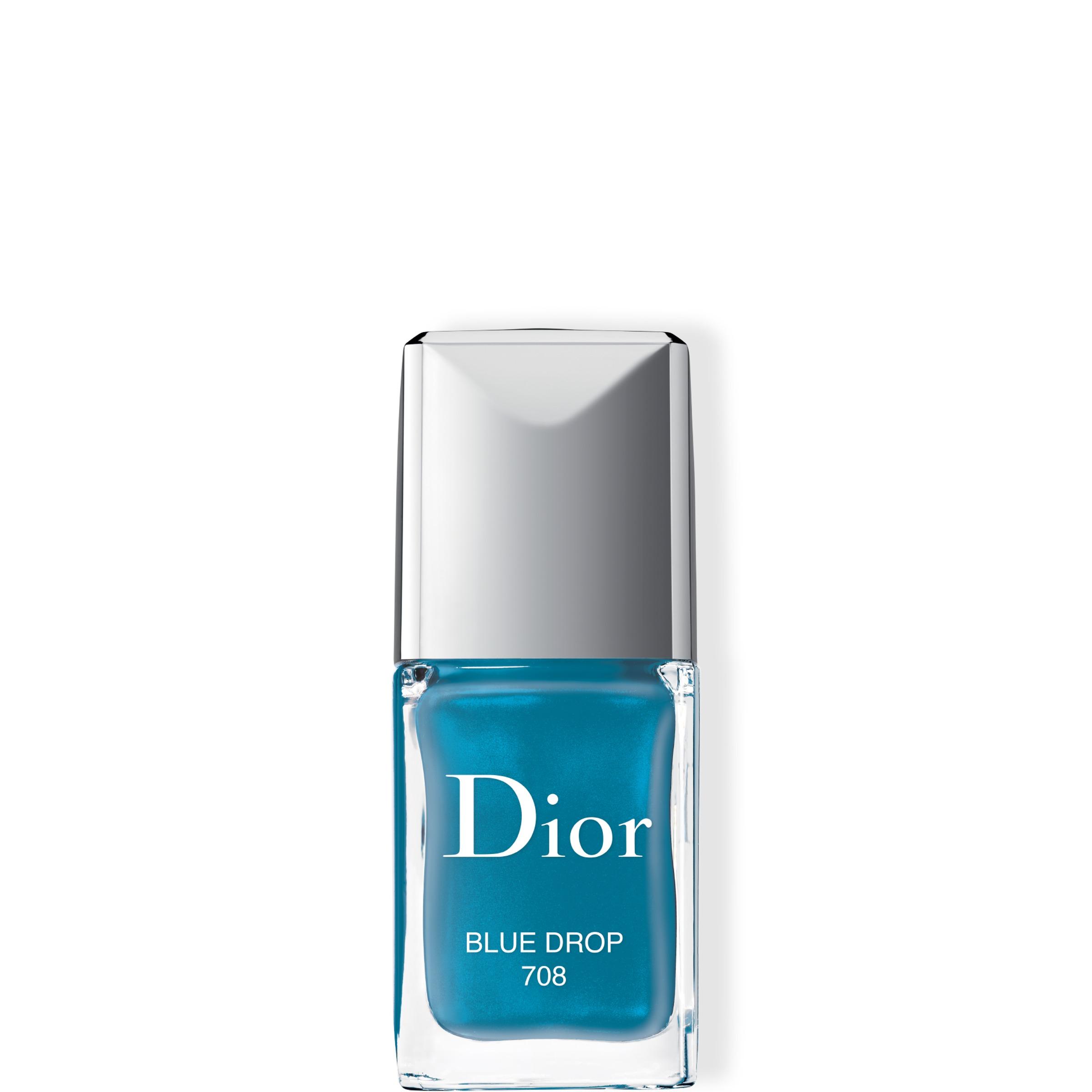 Vernis Nail Polish 708 Blue Drop