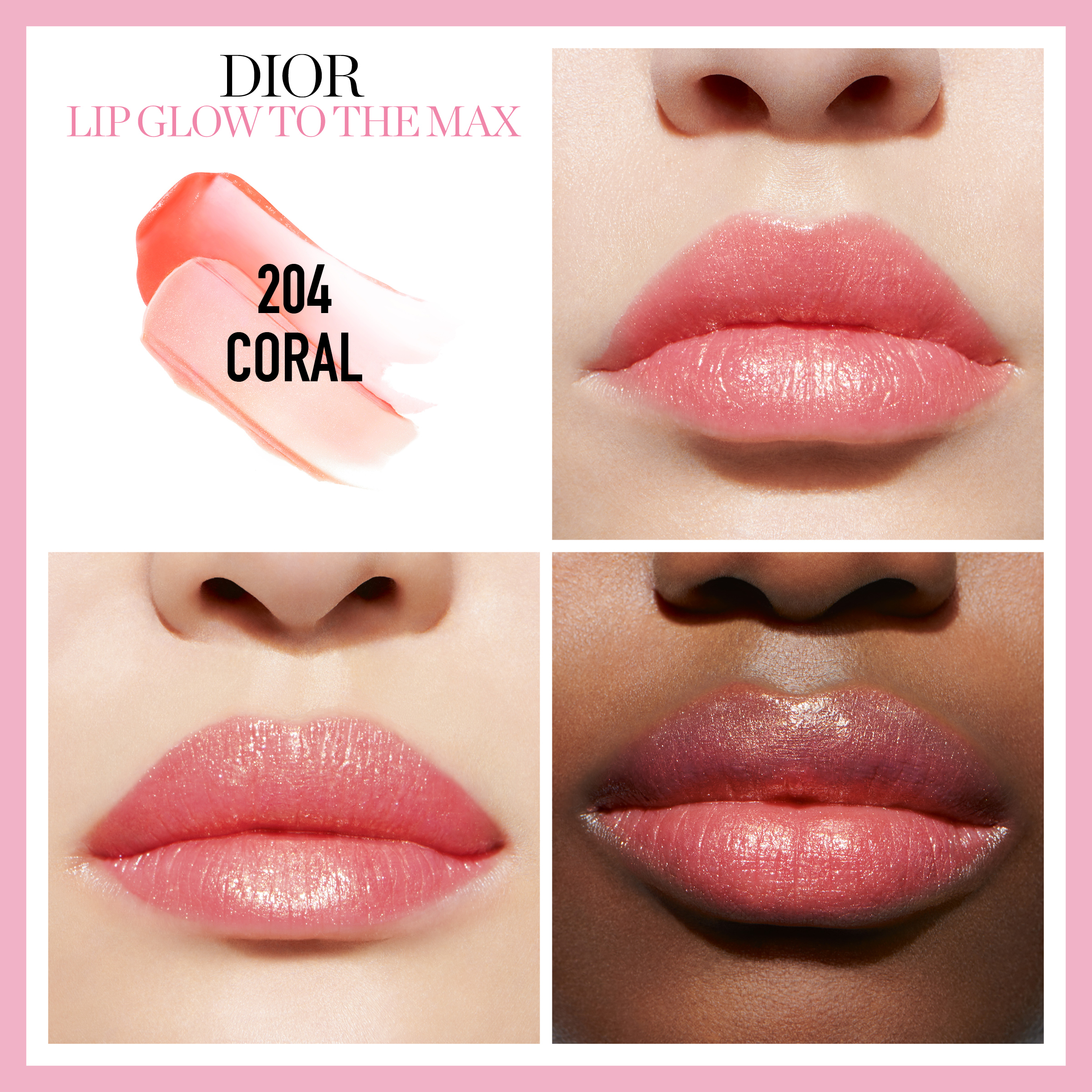 Addict Lip Glow To The Max 204 Coral