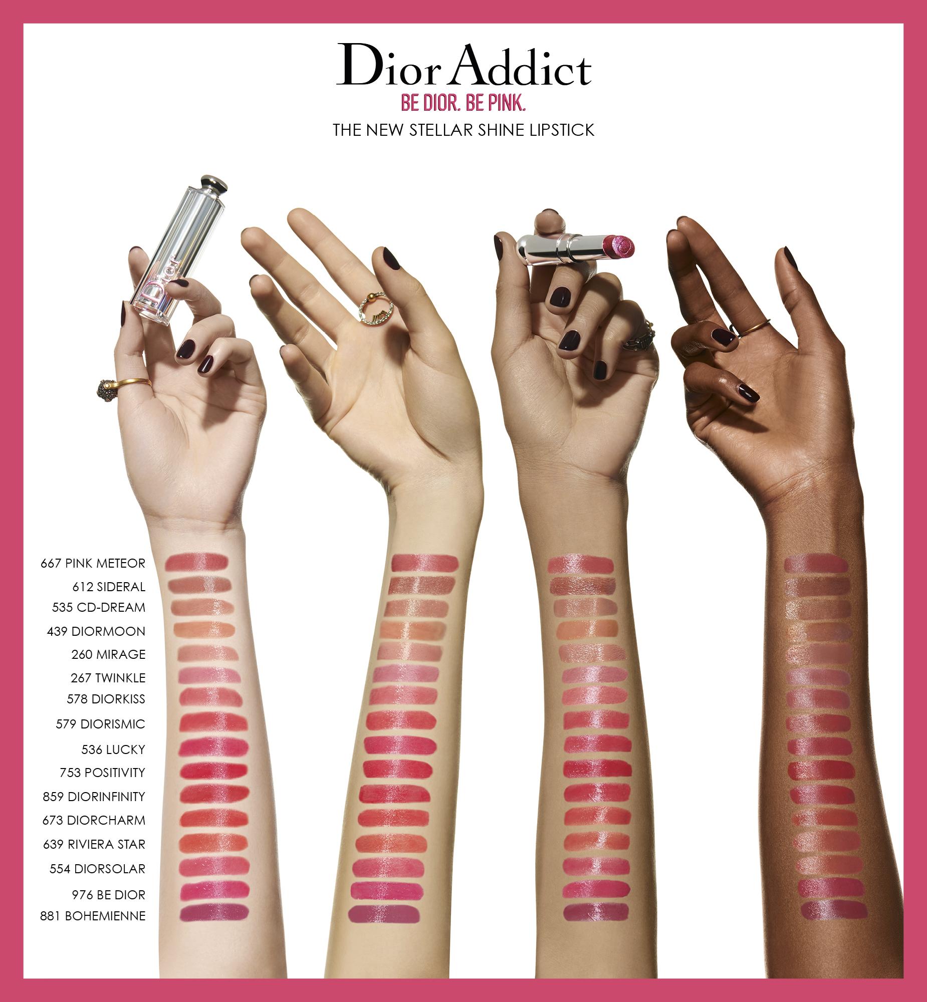 Addict Stellar Shine Lipstick 536Lucky