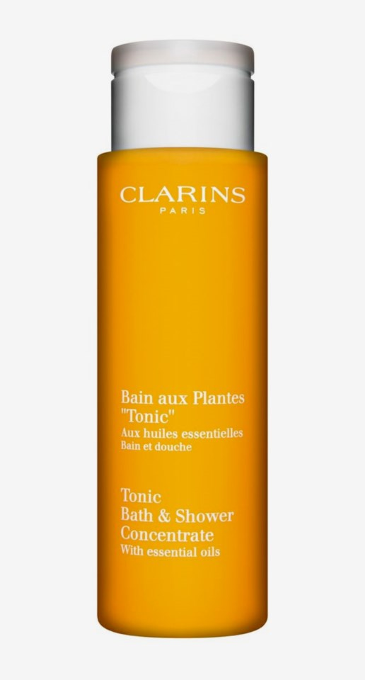 Tonic Bath Amp Shower Concentrate Clarins Kicks