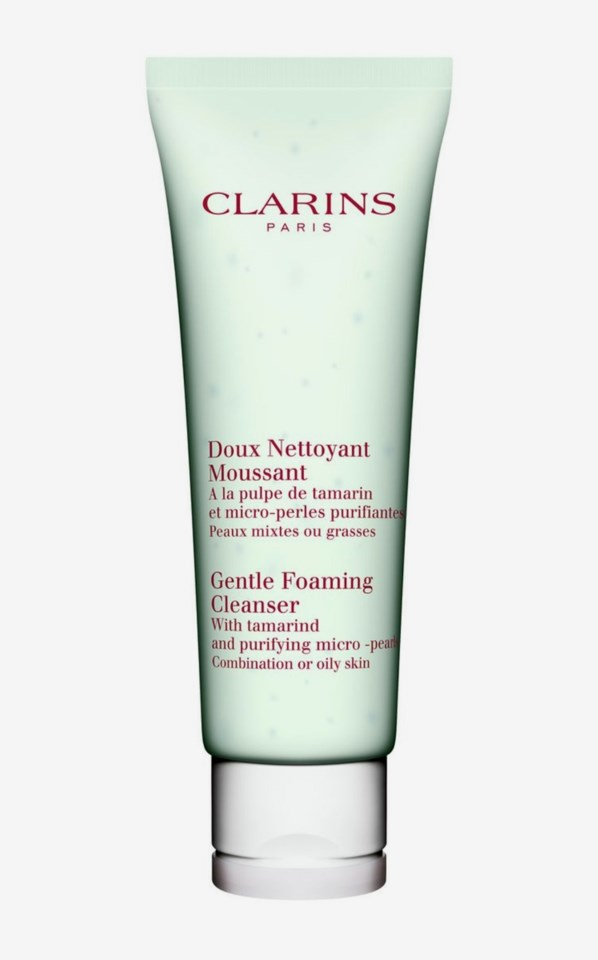 Gentle Foaming Cleanser Combination/Oily Combinated to Oily Skin