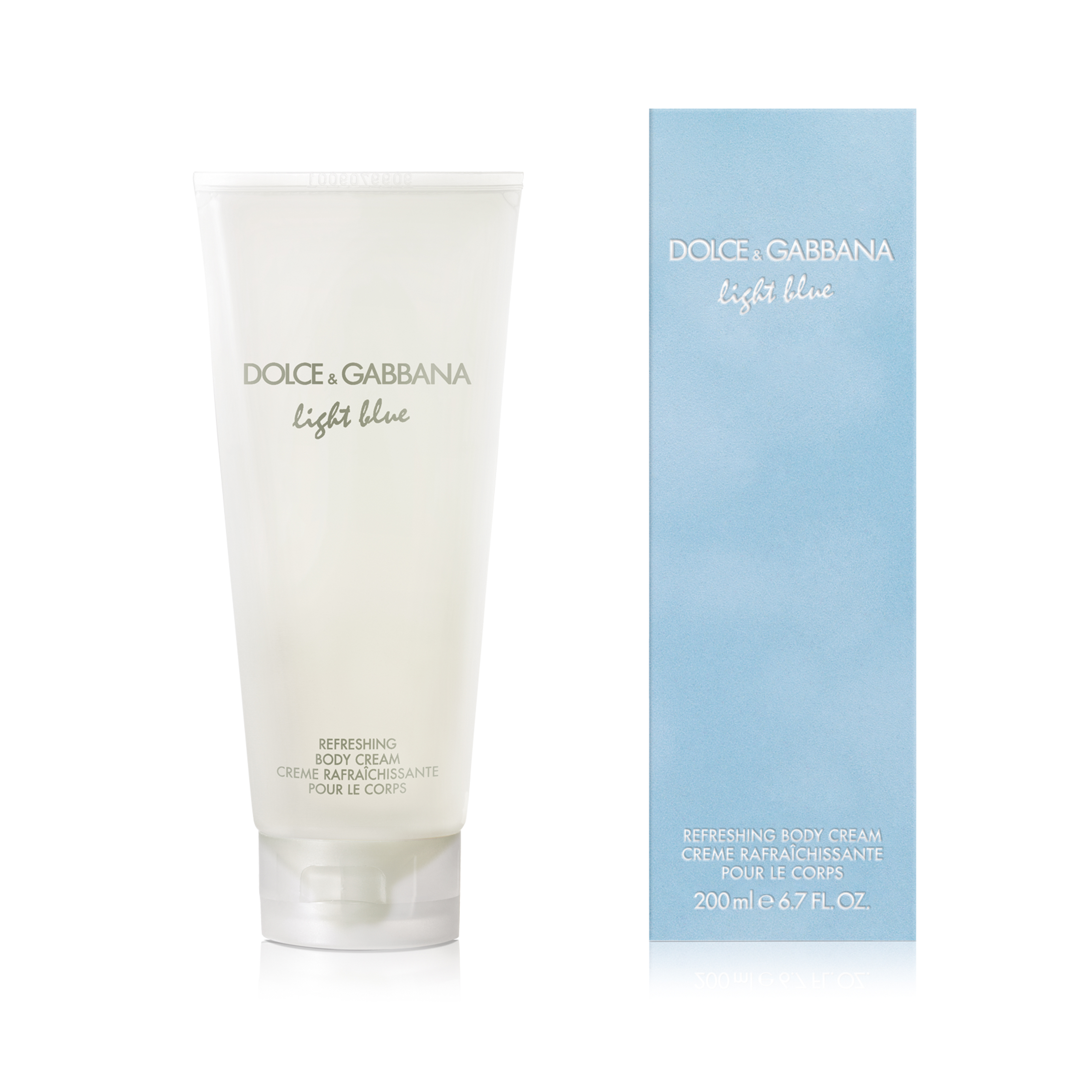 Light Blue Body Cream 200ml