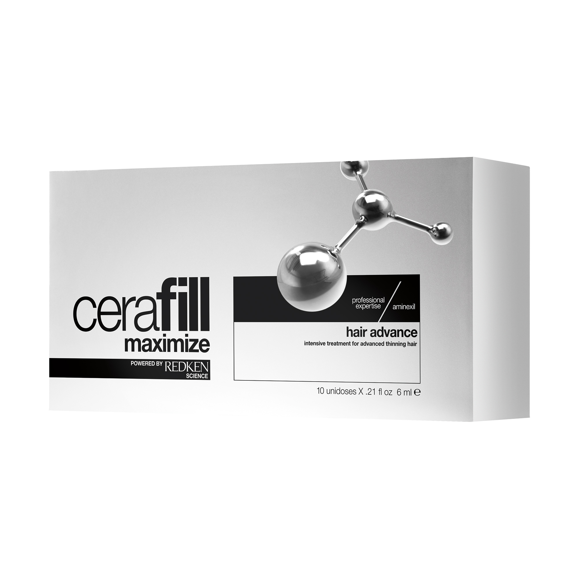 Cerafill Mazimize Hair Advance Treatment 10x16ml