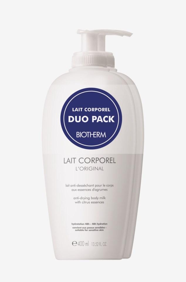 Lait Corporel L'original Duo Pack 800ml