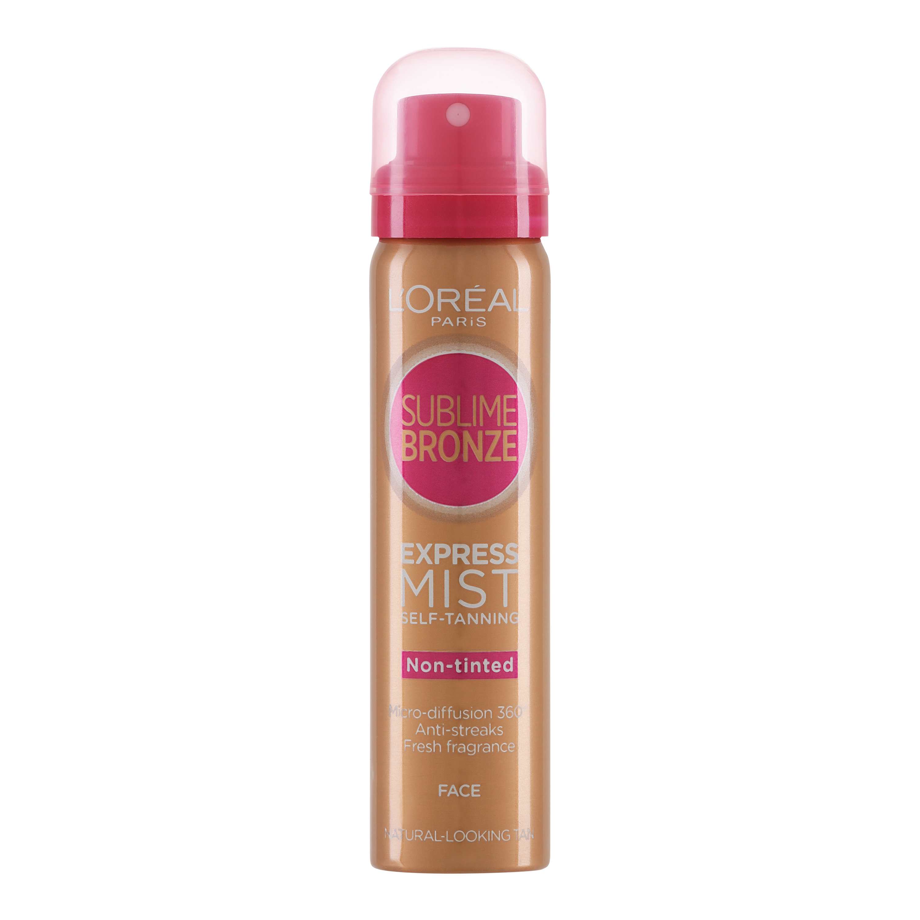 Sublime Bronze Express ProFace Dry Mist for Face