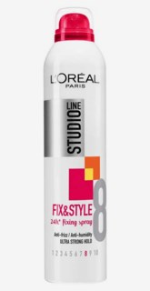 Studio Line Fix&Style Fixing Spray UltraStrong 250 ml