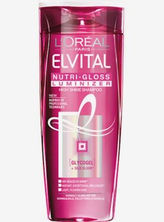 Elvital NutriGloss Luminizer Shampoo 250 ml
