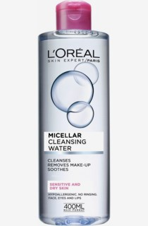 Micellar Cleansing Water Sensitive/Dry Face Toner 400ml