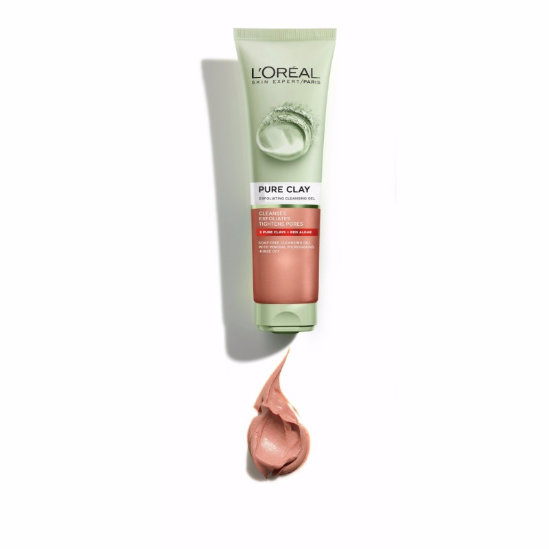 Pure Clay Exfoliating Cleansing Gel
