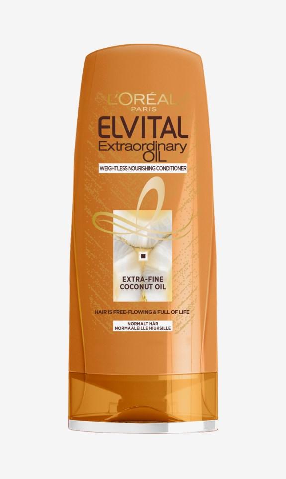Elvital Extraordinary Coconut Oil Conditioner 200ml