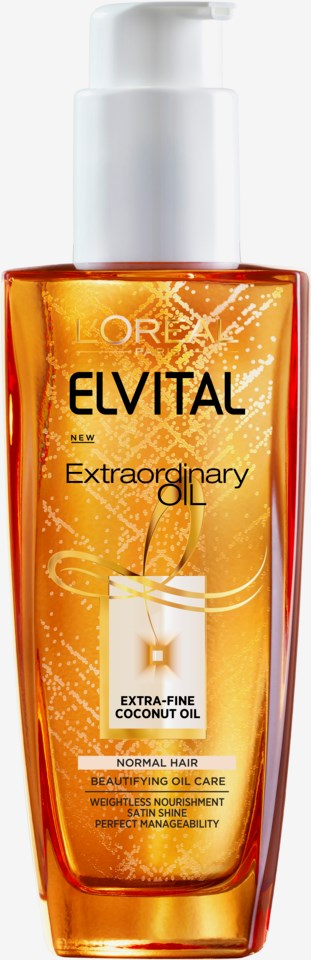 Elvital Extraordinary Coconut Oil Hair Treatment 100ml