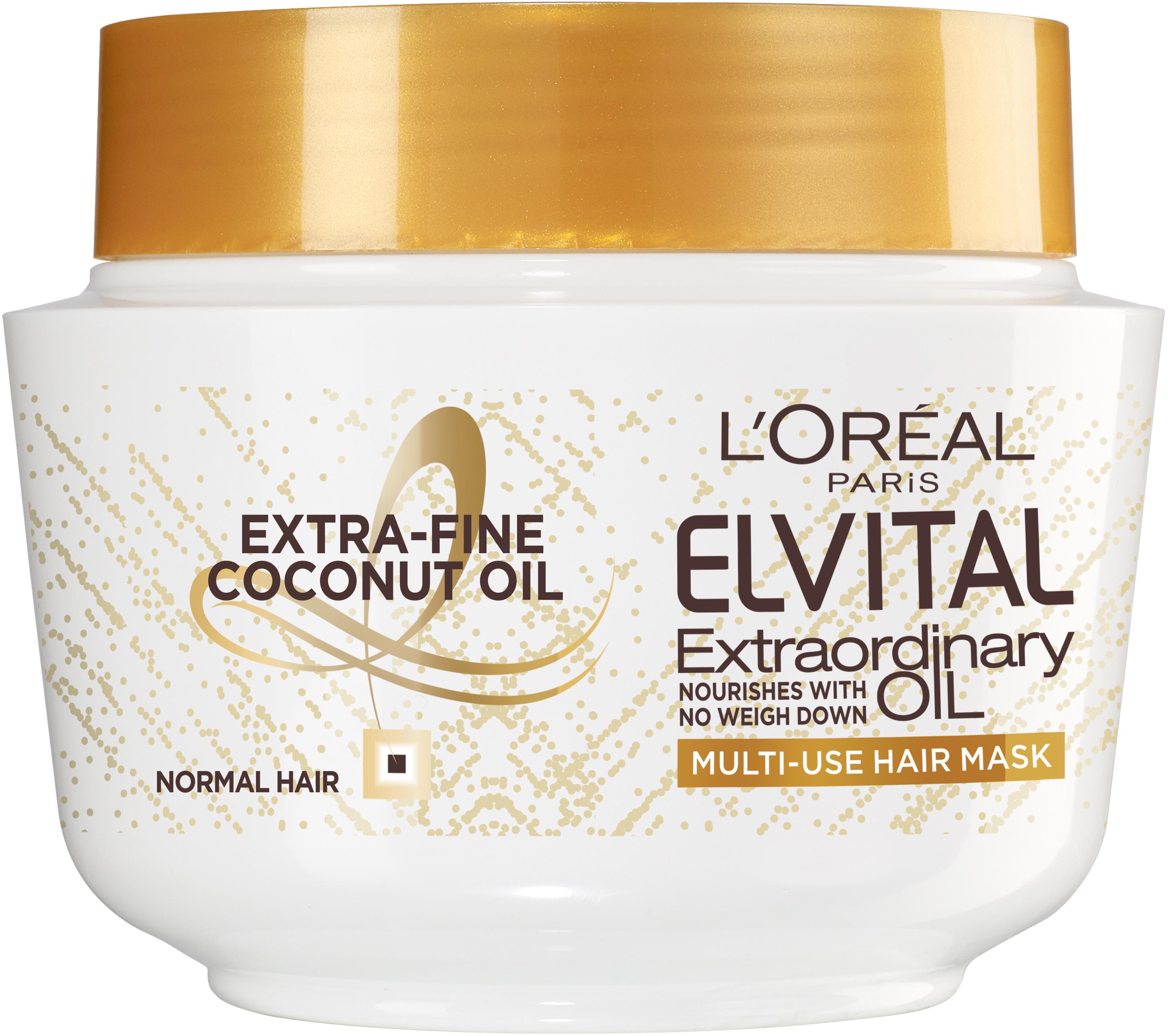 Elvital Extraordinary Coconut Oil Multi-Use Hair Mask 300ml