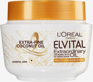 Elvital Extraordinary Coconut Oil Multi-Use Hair Mask 300 ml