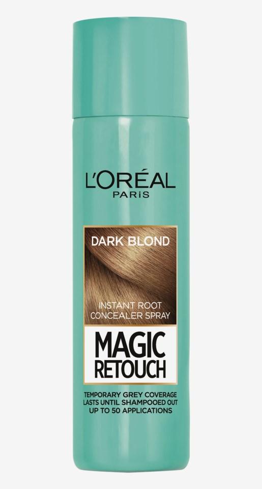 Magic Retouch Root Concealer Spray Dark Blonde 150ml