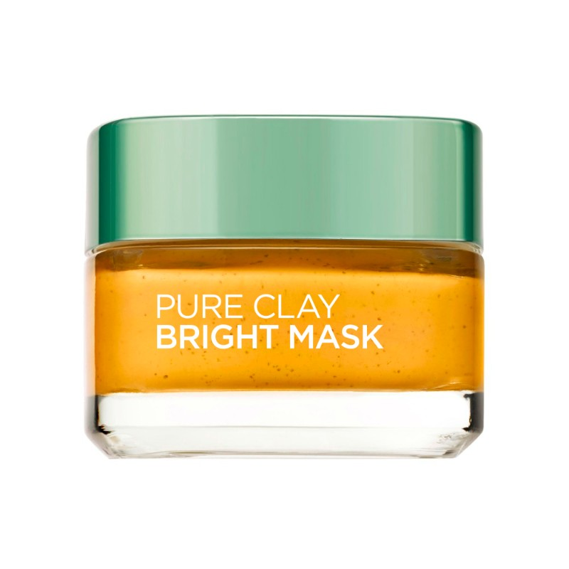 Pure Clay Mask Bright Mask Yellow